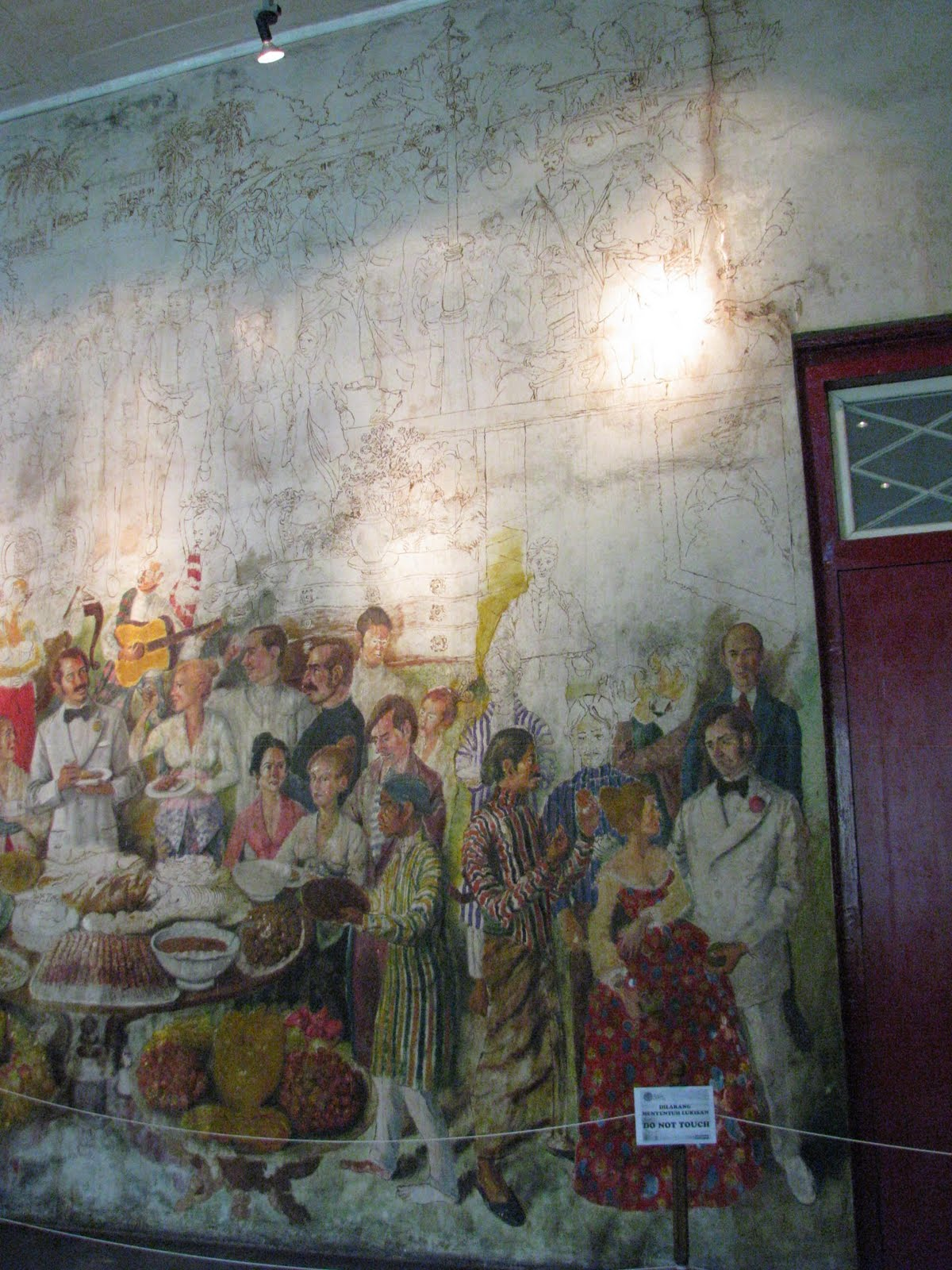 Mystery of batavia mural cantik oinkdenguik for Mural yang cantik